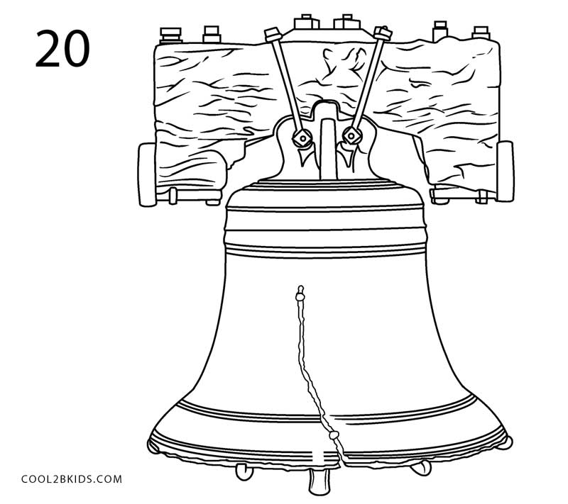 How to Draw the Liberty Bell (Step by Step Pictures