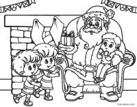 Free Printable Santa Coloring Pages For Kids | Cool2bKids
