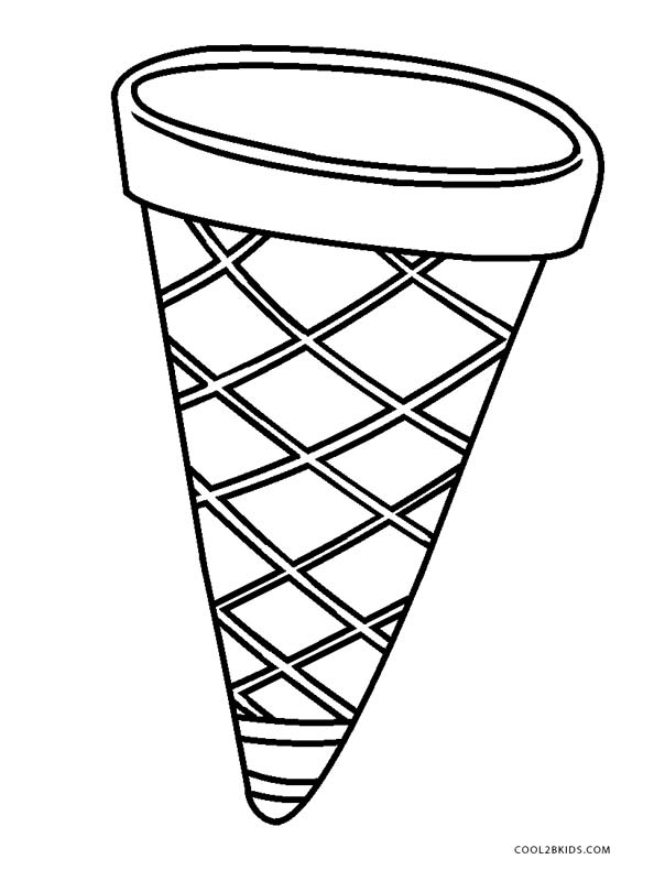 ice cream cone coloring pages to print free printable ice