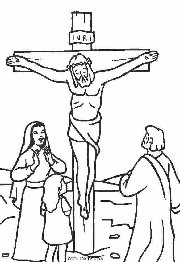 coloring pages jesus # 15