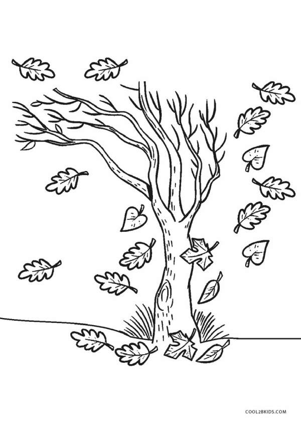 trees coloring pages # 55