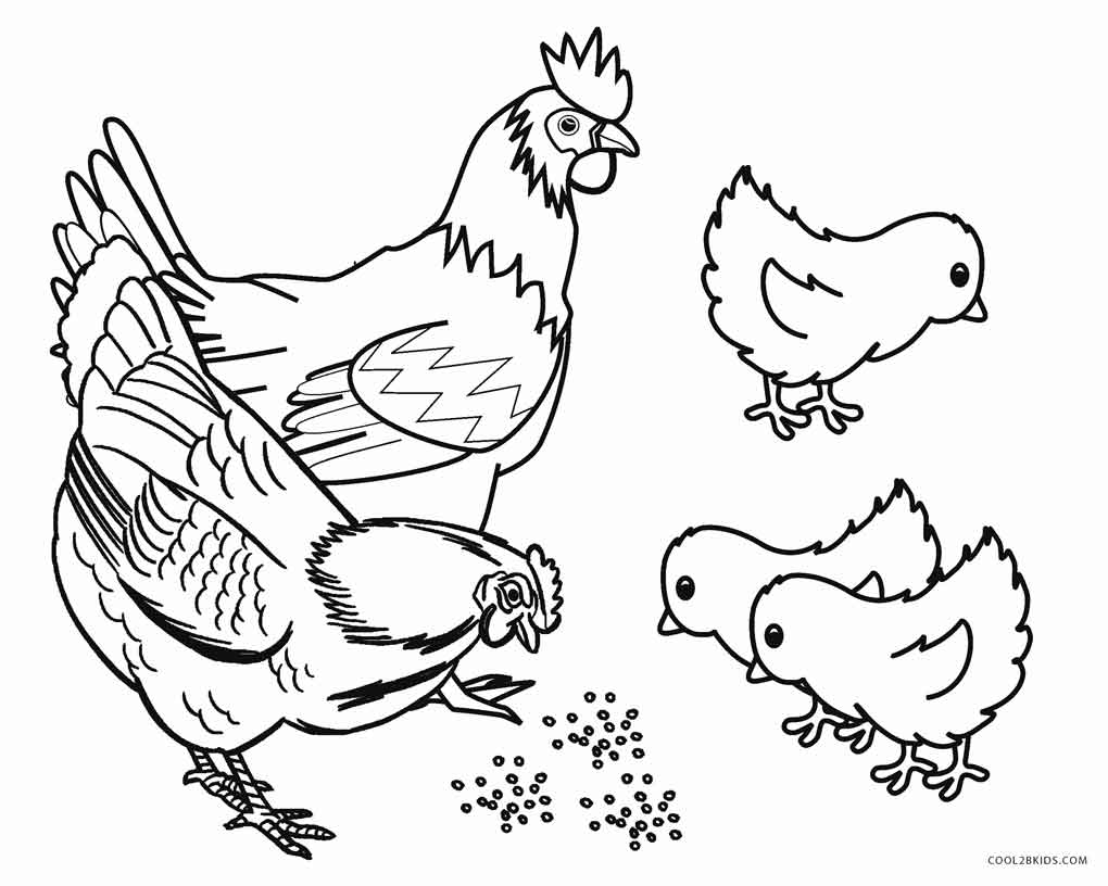 Animal Coloring Pages | Cool2bKids | printable coloring pages animals farm