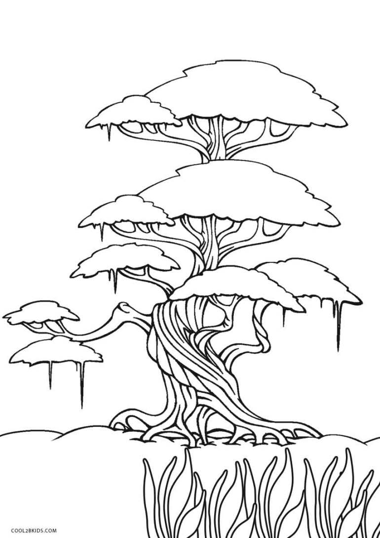 Free Printable Tree Coloring Pages For Kids | Cool2bKids | printable colouring pages