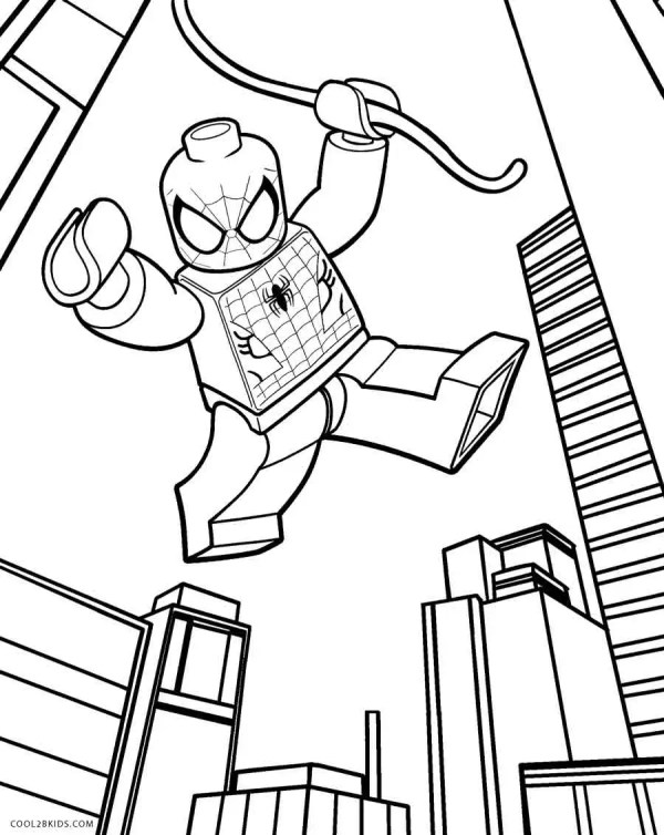 legos coloring pages # 2