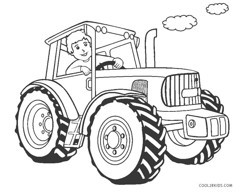 Backhoe Coloring Pages Images Sketch Coloring Page