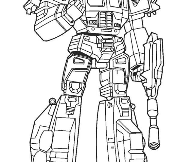 Free Printable Transformer Coloring Pages For Kids Coolbkids