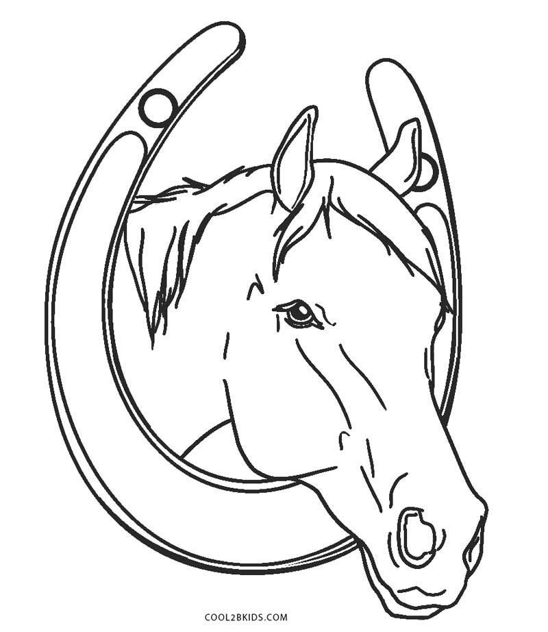 Ausmalbilder Pferde - Malvorlagen kostenlos zum ausdrucken