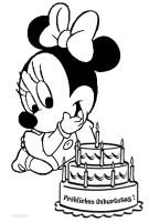 Ausmalbilder Minnie Maus   Malvorlagen kostenlos zum ...
