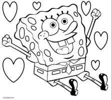 Ausmalbilder SpongeBob   Malvorlagen kostenlos zum ausdrucken