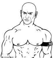 Ausmalbilder Wrestling   Malvorlagen kostenlos zum ausdrucken