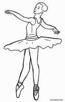 Ausmalbilder Ballett   Malvorlagen kostenlos zum ausdrucken
