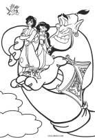 Ausmalbilder Aladdin   Malvorlagen kostenlos zum ausdrucken