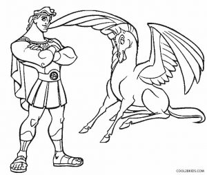 Ausmalbilder Pegasus Cool2bKids