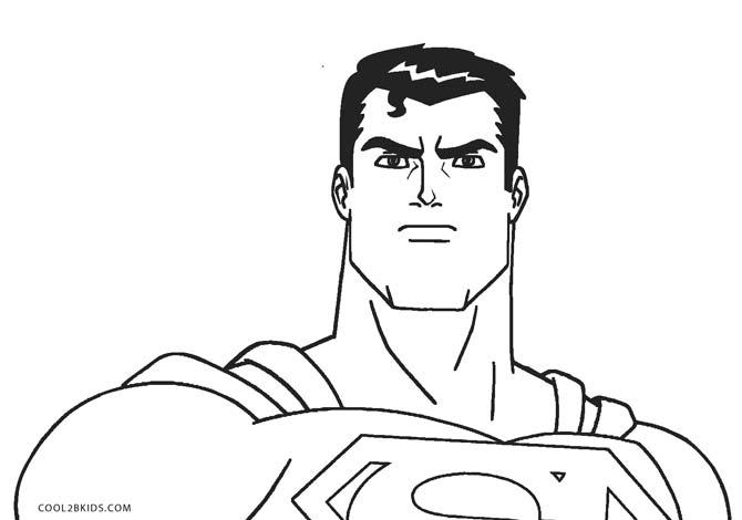 Ausmalbilder Superman - Malvorlagen kostenlos zum ausdrucken