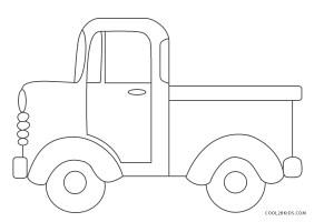 Ausmalbilder LKW   Malvorlagen kostenlos zum ausdrucken