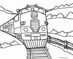 Ausmalbilder Zug   Malvorlagen kostenlos zum ausdrucken