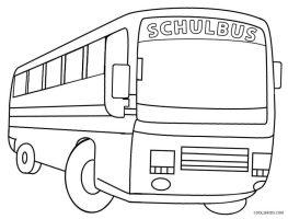 Ausmalbilder Schulbus   Malvorlagen kostenlos zum ausdrucken