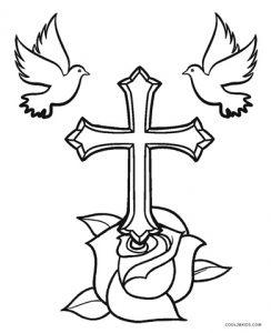 Ausmalbilder Kreuz - Malvorlagen kostenlos zum ausdrucken