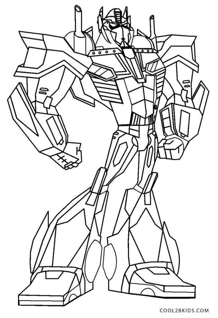Ausmalbilder Transformers - Malvorlagen kostenlos zum