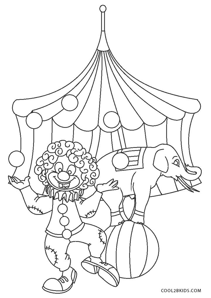 Malvorlagen Zirkus