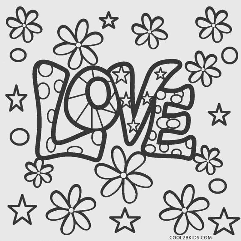 Liebe Malvorlagen