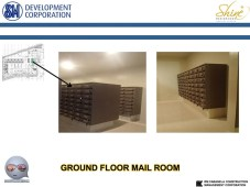 Shine Residences Mail Room