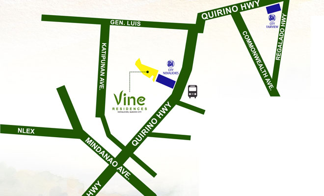 Vine Residences Project Location