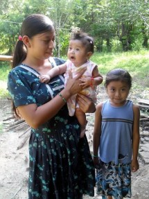 Mopan Maya Sisters Care for the Youngest Daughter