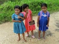 Mopan Maya Children Walk Home from School