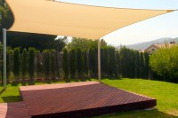 Garden Sun Sails  versatile patio sun shade sails with UV ...