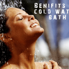6 Benefits of a cold shower