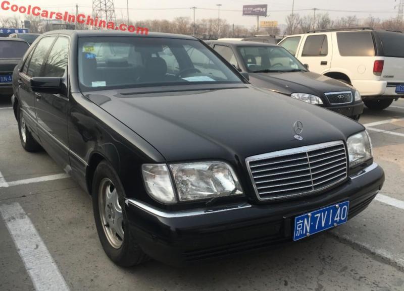 Mercedes Benz S600 Is A Brutal Black V12 Sedan In China