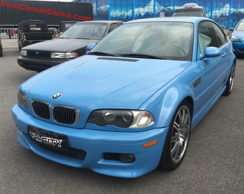 A Beautiful Blue E46 Bmw M3 In Beijing Coolcarsinchina Com