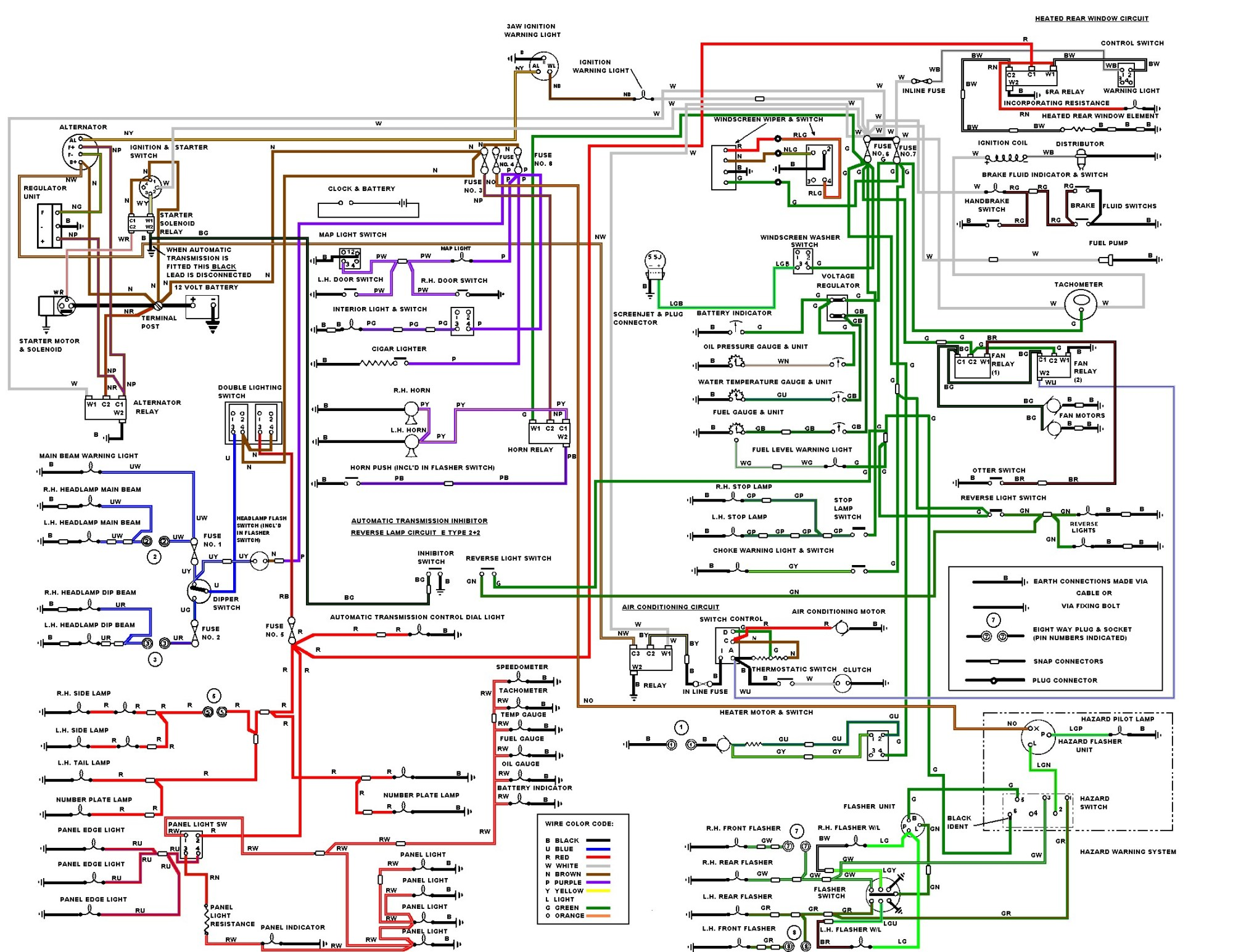 hight resolution of jaguar wiring diagram 64 wiring diagram perfomance jaguar ac wiring diagrams