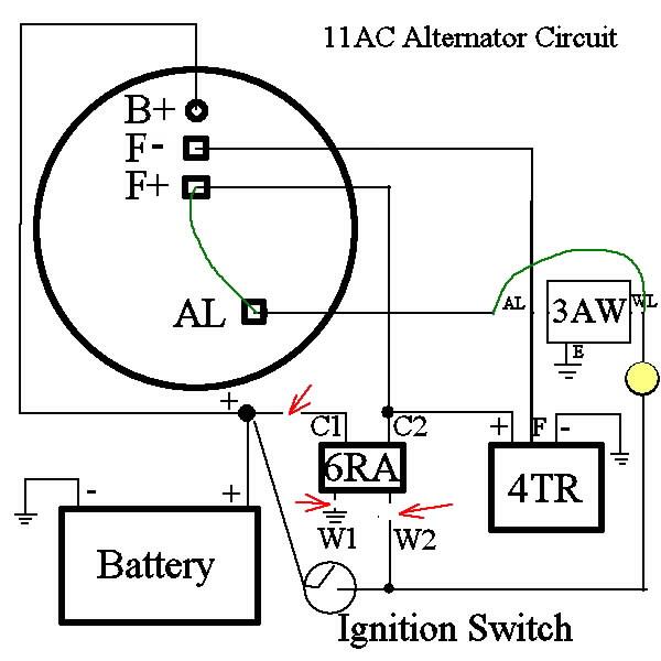 alternatorrewiring lucas console wiring diagram dolgular com Denso Alternator Wiring Diagram Mopar at webbmarketing.co