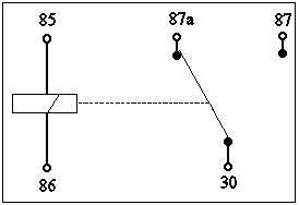 double pole relay wiring diagram 2006 chevy truck radio temp14 typical bosch