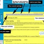 How to set up a classroom blog using Class Blogmeister: Initial Setup
