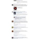 Yes, there are great conversations on Facebook!