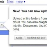 Upload Whole Folders into Google Docs