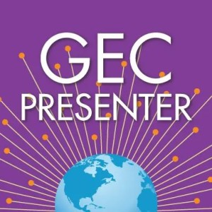 Global Education Conference presenter badge