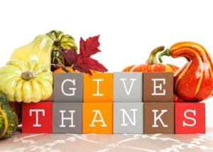 Happy Thanksgiving - Give Thanks.