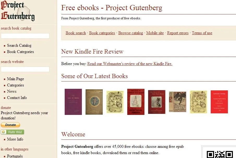 The epic ebook guide project gutenberg ebook fandeluxe Gallery