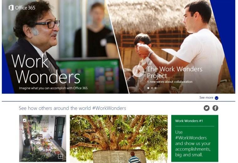 Work Wonders Website