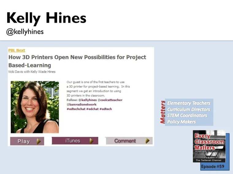 Kelly Hines 3d printer