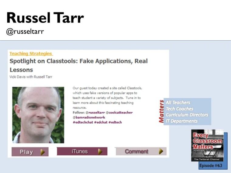Russel Tarr classtools.net