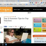 Top 12 Summer Tips for Top Teachers