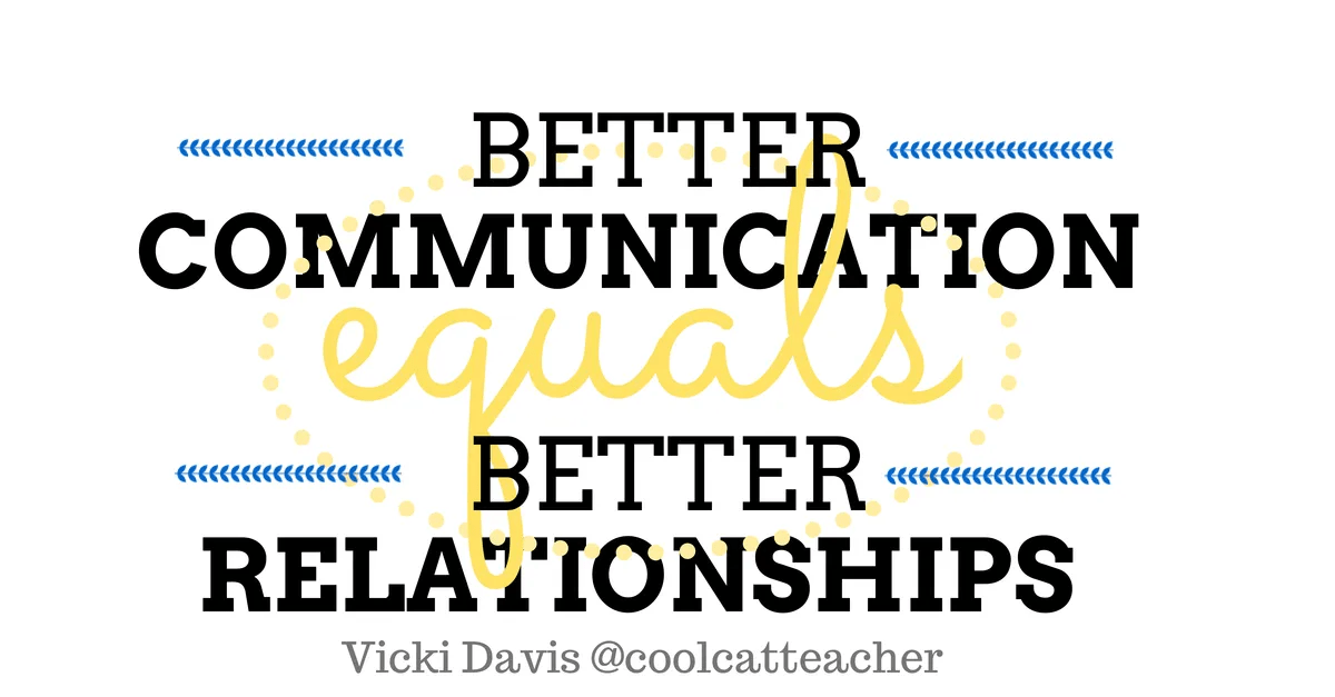 better communication equals better relationships  sc 1 st  Cool Cat Teacher & 8 Great Email Etiquette Tips for Educators u0026 Everyone