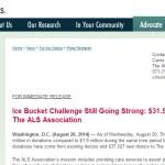 Ice Bucket Challenge Bellringer