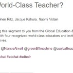 What Makes a World-Class Teacher? #gesf