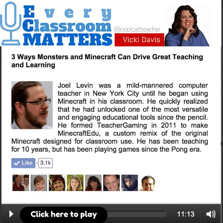 Joel Levin on Every Classroom Matters